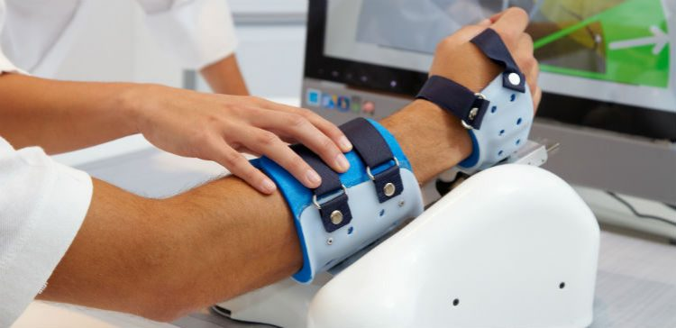 Simulator to help improve limb movement after a spinal cord injury