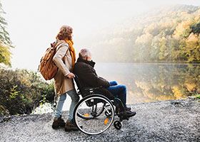 Spinal injury case study - Spinal injury client receives settlement to help with lifelong care