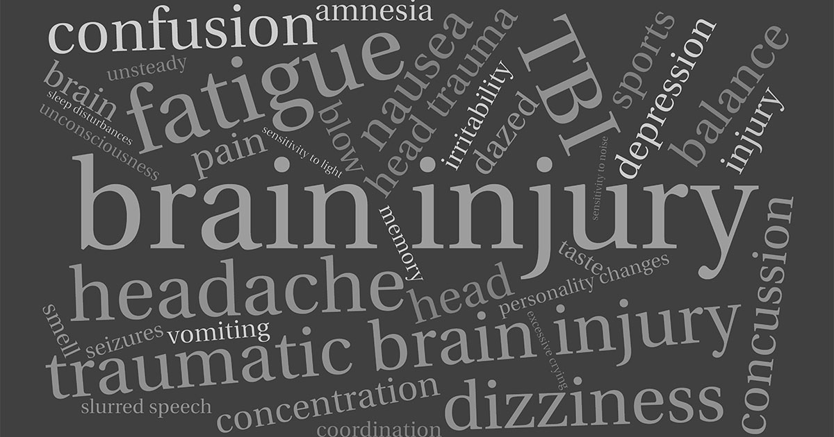 Common symptoms after a Traumatic Brain Injury